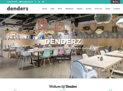 Webdesign Groningen voor Denderz