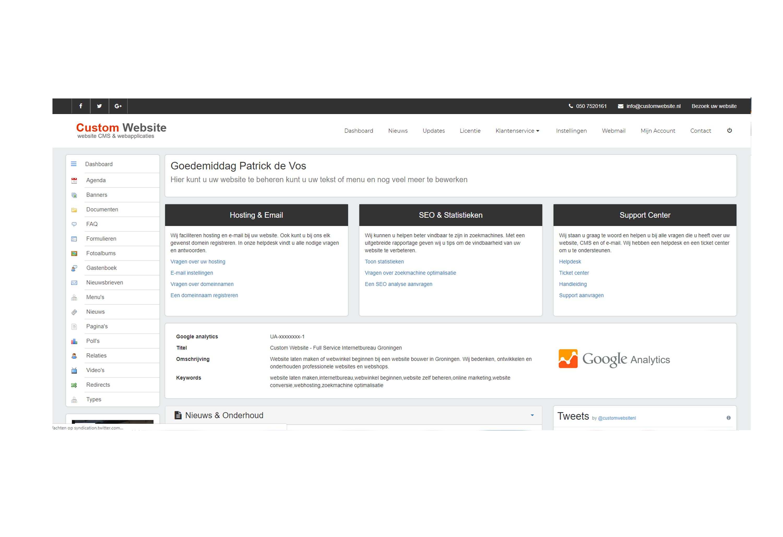 Webapplicatie ontwikkelen